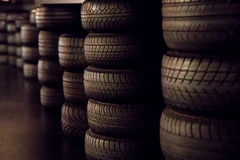 neumáticos Imágenes de archivo libres de regalías