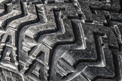 Neumáticos campo a través del protector imagen de archivo libre de regalías