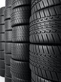 Neumáticos de automóvil Imagen de archivo libre de regalías