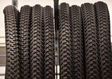 Neumáticos de Bycicle fotografía de archivo libre de regalías