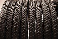 Neumáticos de Bycicle fotos de archivo