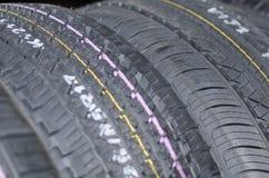 Neumáticos de coche Imagen de archivo