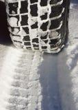 Neumáticos de coche Fotografía de archivo libre de regalías