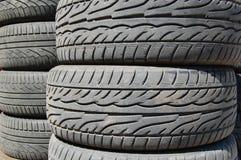 Neumáticos de goma Imagen de archivo