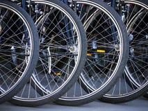 Neumáticos de la bicicleta Imagen de archivo libre de regalías