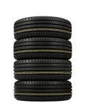Neumáticos de la pila Fotos de archivo