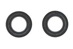 Neumáticos de los pares Fotografía de archivo