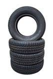 Neumáticos de los pares Foto de archivo libre de regalías
