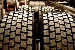 Neumáticos del carro Fotografía de archivo