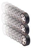 Neumáticos del coche Foto de archivo