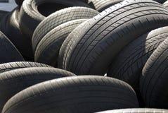 Neumáticos del coche Imagen de archivo