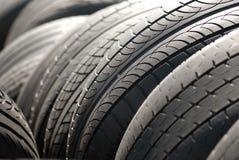 Neumáticos del coche Imagen de archivo libre de regalías