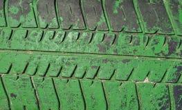 Neumáticos del fondo Imágenes de archivo libres de regalías