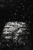 Neumáticos del invierno Neumático para el invierno Fotos de archivo