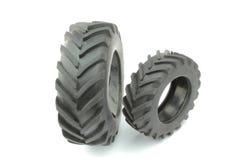 Neumáticos del tractor Fotos de archivo
