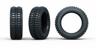 Neumáticos del vehículo Fotografía de archivo libre de regalías