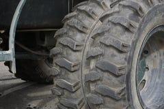 Neumáticos dobles Foto de archivo