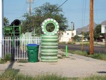 Neumáticos grandes de la pila Imagenes de archivo