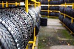 Neumáticos para la venta Foto de archivo