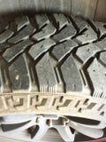 Neumáticos superficiales Fotografía de archivo