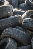 Neumáticos viejos Fotografía de archivo