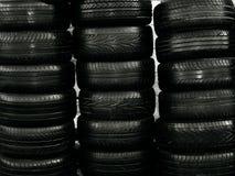 Neumáticos viejos Fotografía de archivo libre de regalías