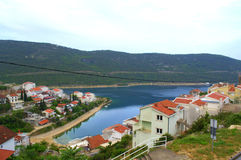 Neum bay,Bosnia and Herzegovina. Neum is Bosnia and Herzegovina only town located on the Adriatic coast and a top resort vacation for travelers who want to enjoy Royalty Free Stock Image