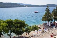Neum Beach. Beach in Neum Bosnia Herzegovina Royalty Free Stock Photos