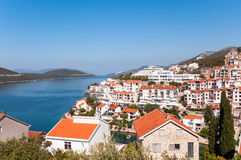 Neum in Bosnia anf Harzegovina. View of Neum in Bosnia and Herzegovina Stock Images