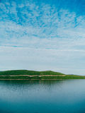 Neum Bosnia. View from the hotel to the other side. Hotel near t. He Adriatic Sea Royalty Free Stock Image