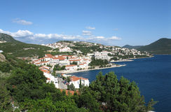 Neum city landscape Stock Photo