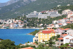 Neum. Only coastal town in Bosnia and Herzegovina Stock Image