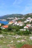 Neum. Only coastal town in Bosnia and Herzegovina Stock Photos