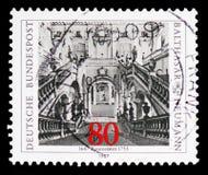 Neumann, Balthazar, 300. Geburts-Jahrestag serie, circa 1987 lizenzfreies stockbild
