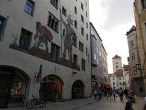 Neumarkt: άποψη από τον ανήφορο στοκ εικόνες
