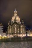 neumarkt för frauenkirche för auf-dem dresden Arkivbilder