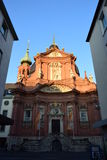 NEUMÜNSTERKIRCHE church in Würzburg, Germany Stock Photos