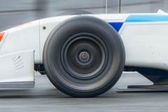 Neumáticos de la raza del deporte Foto de archivo libre de regalías