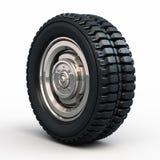 Neumáticos y rueda del vehículo Foto de archivo