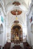 Neumunster Collegiale Kerk in Wurzburg Stock Afbeeldingen