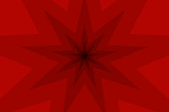 Neun gezeigter Sternzusammenfassungs-Vektorhintergrund Stockfotos