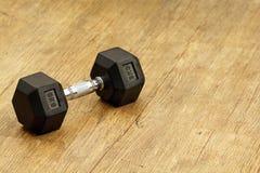 Neun Kilogramm Gewicht für workingout Lizenzfreie Stockfotos