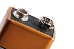 Neun Volt-Batterie Stockfoto