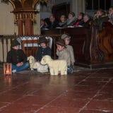 Nativity play royalty free stock photos