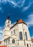 Neupfarrkirche Church in Regensburg, Germany Stock Photos