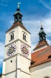 Neupfarrkirche Church in Regensburg, Germany Stock Photo