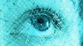 Neuraal het experimentconcept van de netwerk digitaal geneeskunde stock foto