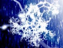 Neuraal netwerk Royalty-vrije Stock Afbeelding