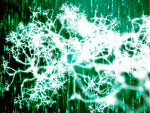 Neural network Stock Image