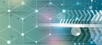 Neural sieci pojęcie Związane komórki z połączeniami Nowoczesna technologia proces Obrazy Stock